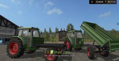 Мод трактора FENDT