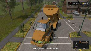Caterpillar 725A mods