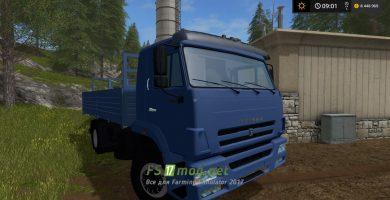 Мод грузовика КамАЗ 45253