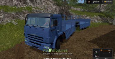 Kamaz 45253 mods FS 17
