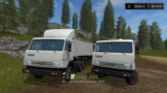 Kamaz 5410 and Nefaz 93344