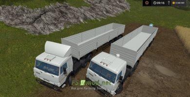 Мод грузовика КамАЗ 5410 для Farming Simulator 2017