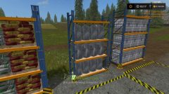 Placeable refillStorageRack FS17