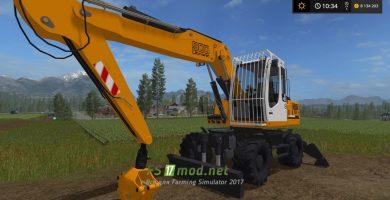 Liebherr 900C mods FS 17