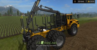 Volvo A40G Forward для FS 17