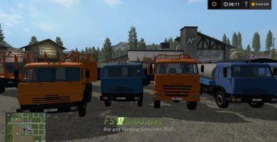 KAMAZ mods FS 17
