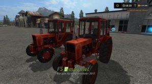 Мод МТЗ 80 для Farming Simulator 2017