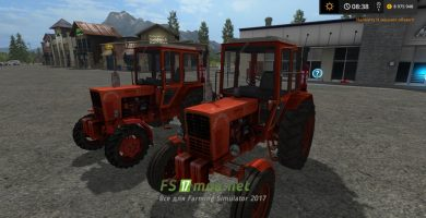 Мод МТЗ 80 для Farming Simulator 2017