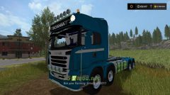 Мод Scania R730 8X8 IT RUNNER