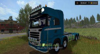 Мод Scania R730 8X8 IT RUNNER