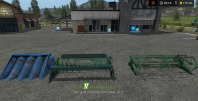 Мод комбайна Нива для Farming Simulator 2017