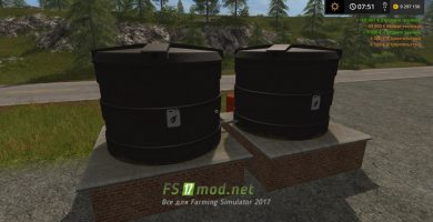 Мод LIQUID FERTILIZER TANKS