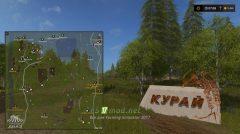 Схема карты Kuray