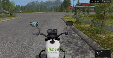Мод мотоцикла ИЖ