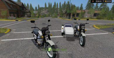 Мотоцикл планета для FS 17
