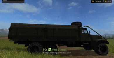 Мод грузовика КрАЗ 257