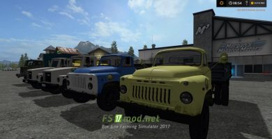 Мод грузовиков ГАЗ