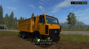 Маз-6501 для FS 17