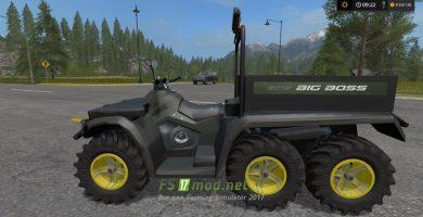 Квадроцикл POLARIS 6X6