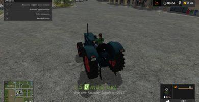 Мод на трактор Hanomag Robust 900A