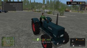 Мод Hanomag Robust 900A