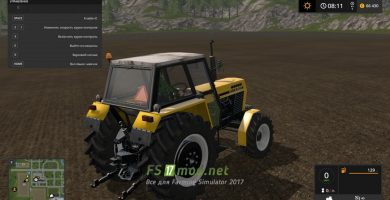Трактор URSUS 385-4 W DRIVE для Farming Simulator 2017