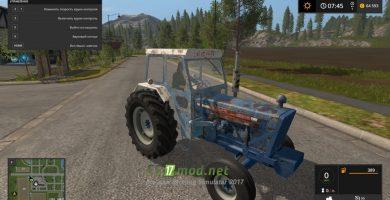 Трактор RUSTY FORD 4000
