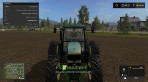 Трактор JOHN DEERE 6810/6910 вид спереди