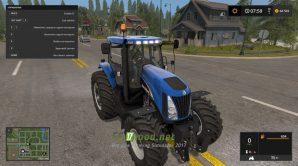 Трактор NEW HOLLAND TG SERIES