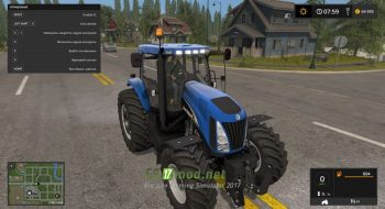 Трактор NEW HOLLAND TG SERIES