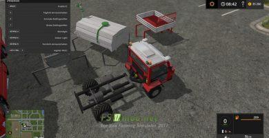 REFROM MULI T8 PACK для Farming Simulator 2017
