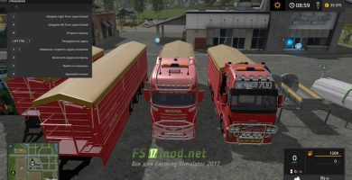 CONOW PACK BY EASTSIDE для FS 2017