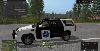 ESCALADE POLICE SUV