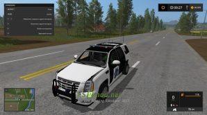 Автомобиль ESCALADE POLICE SUV