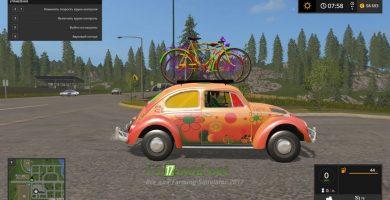 Автомобиль VW PEACE AND LOVE 2 TFSG для игры FS 2017