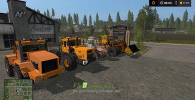 Пак больших тракторов для FS 2017