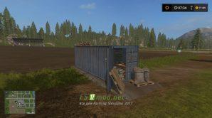 контейнер с семенами REFILL SEED CONTAINER для игры FS 2017
