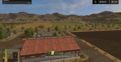 Карта вид на поля