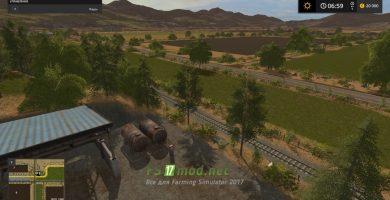 Карта WHO DAT WHO DER RANCH для игры Симулятор Фермера 2017