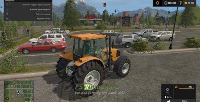 Трактор Renault Ares 550 для игры Симулятор Фермера 2017