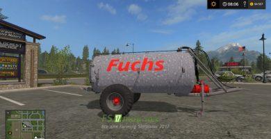 FUCHS MANURE SPREADER VK7.500