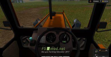 Мод MB TRAC 1000 для заготовки леса в FS 17
