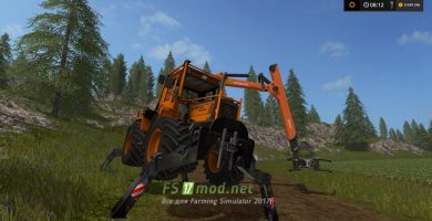 MB TRAC 1000 mods