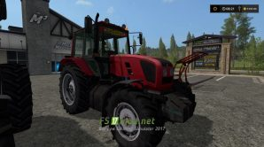 Трактор MTZ 1220.3 для Farming Simulator 2017