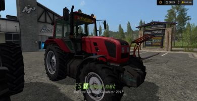 Трактор MTZ 1220.3 для Farming Simulator 2017