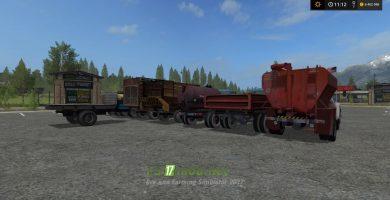 Пак грузовиков ГАЗ-52