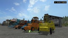 Мод на корнеуборочных команды для Farming Simulator 2017