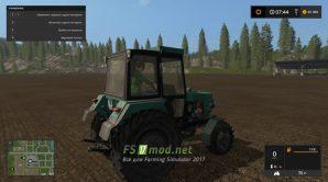 Мод ЮМЗ 8240 для Симулятор Фермера 2017