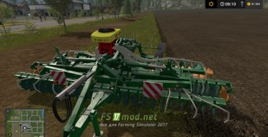 Культиватор APV DISC HARROWS для Farming Simulator 2017