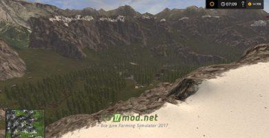 Заснеженные вершины